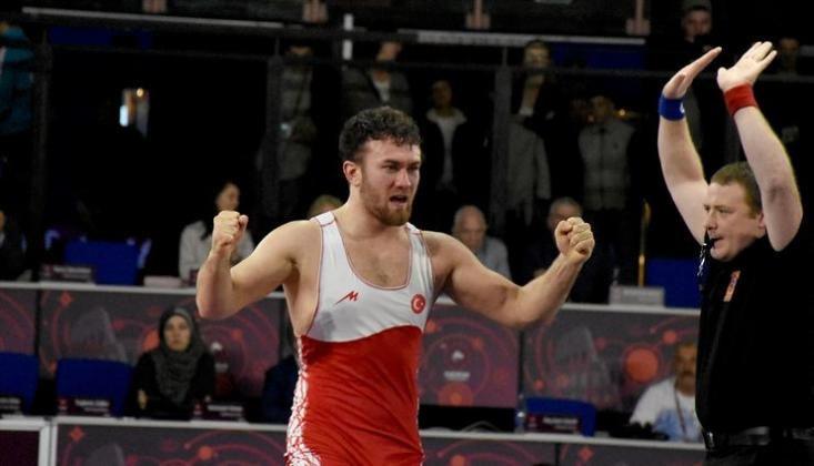 Avrupa Güreş Şampiyonası'nda Altın Madalya