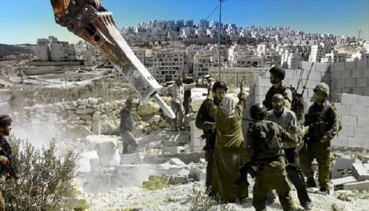 Siyonist Rejim 800'den Fazla Konutu Yıktı