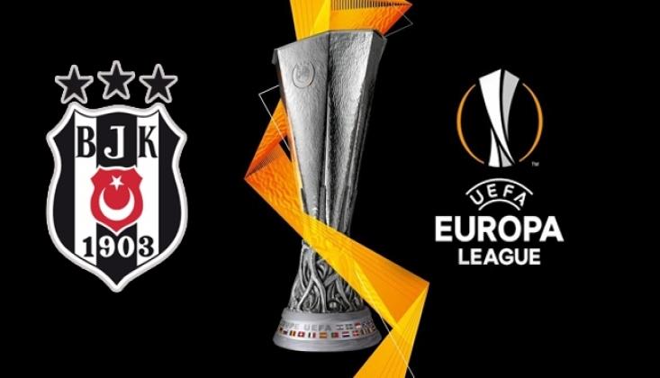 Beşiktaş'ın UEFA Avrupa Ligi Listesi Belli Oldu