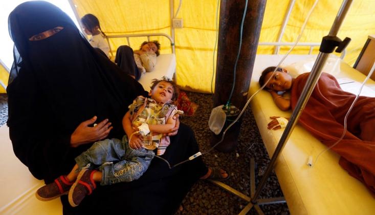 Yemen'de Kolera Kabusu!