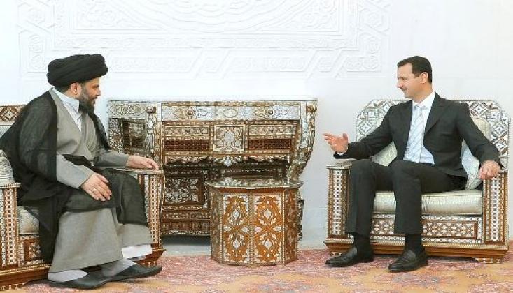 Sadr'dan Başkan Beşar Esad'a Tebrik
