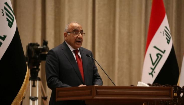 Irak Cumhurbaşkanı: Abdulmehdi İstifa Etmeyi Kabul Etti