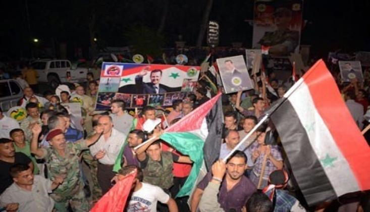 Suriye Halkı Halep'in Kurtarılmasını Kutladı /VİDEO
