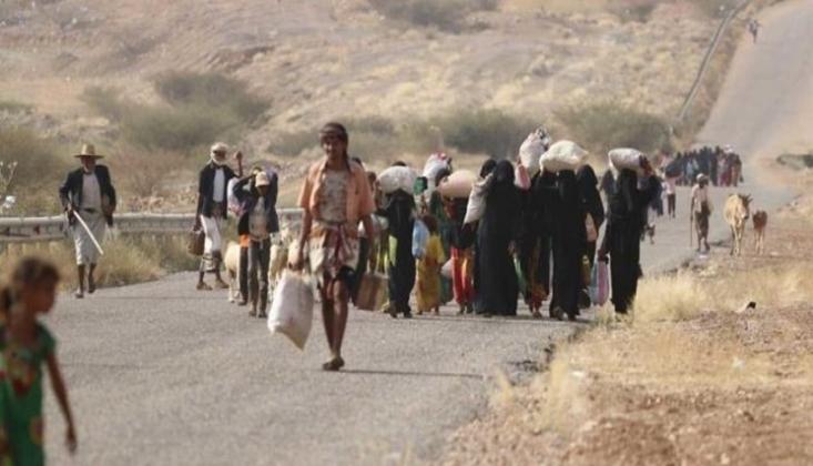 BM Marib'deki Savaş Nedeniyle Yerinden Edilen Sivil Sayısını Açıkladı