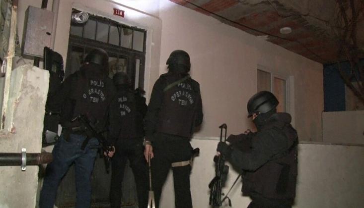 İstanbul'da Büyük Çaplı IŞİD Operasyonu