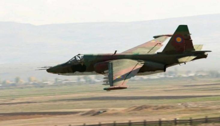 Ermenistan'a Ait İki Su-25 Savaş Uçağı Düşürüldü