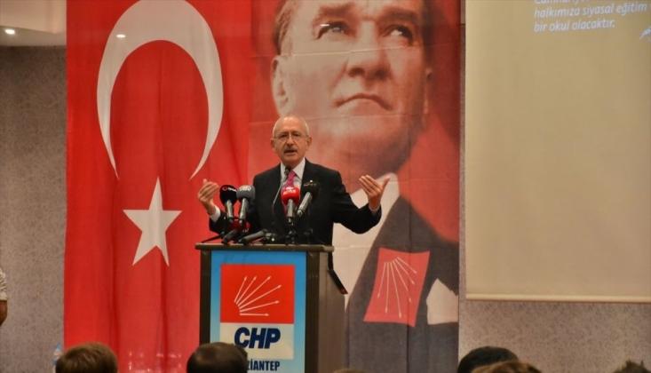 Kılıçdaroğlu: Halen Orta Çağ Siyaseti Yapıyoruz