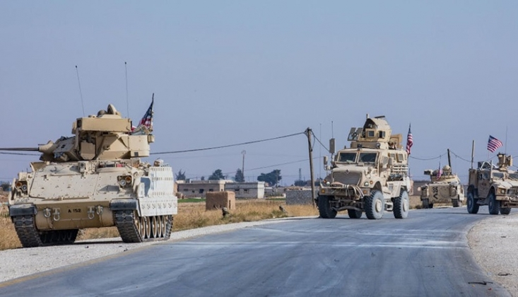 Irak'ta ABD Askeri Konvoyuna Saldırı