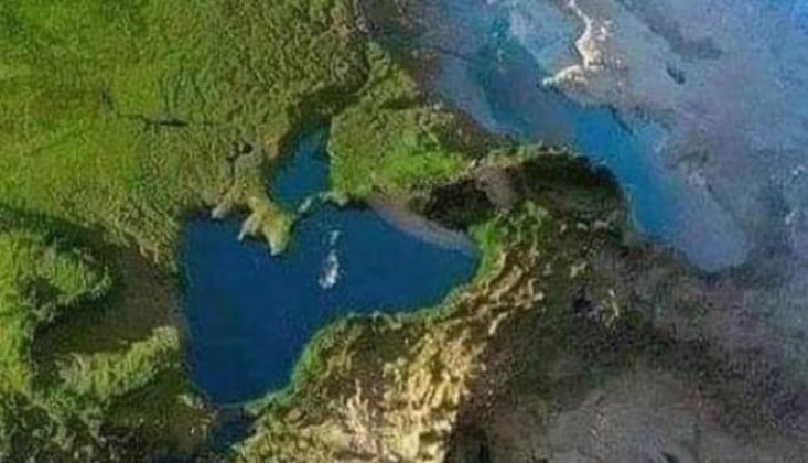 Uzaydan Çekilen Fotoğraf Korkunç Gerçeği Ortaya Çıkardı