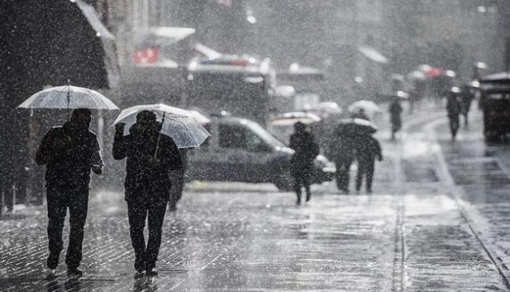 Meteoroloji'den İstanbul İçin Sağanak Uyarısı