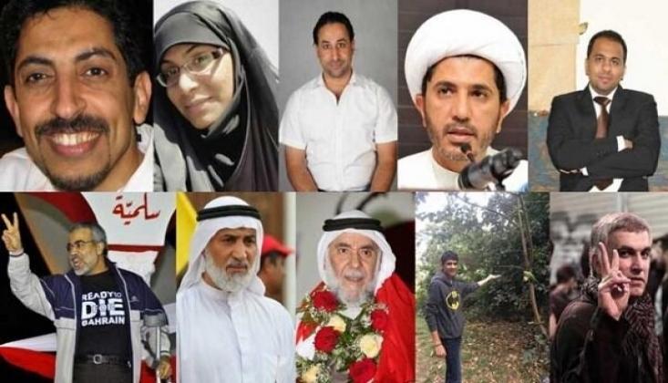 Bahreyn'deki Siyasi Mahkumlar İçin Kampanya