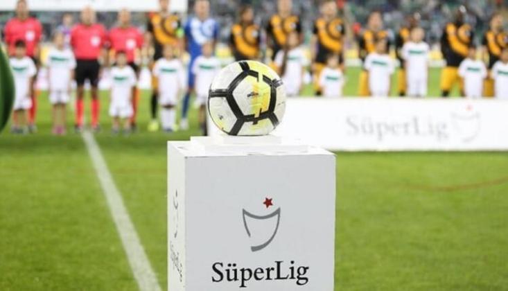 TFF'den Süper Lig İçin Flaş Açıklama!