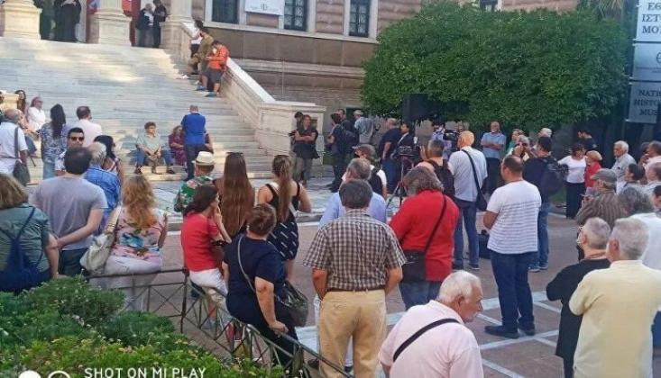 Atina ve Selanik'te Ayasofya Protestosu