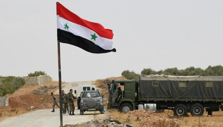 Suriye Ordusu, Hama ve İdlib'de Militanların Mevzilerini Bombaladı