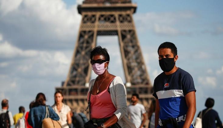 Paris'te Kovid-19 Salgınıyla Mücadelede İlave Tedbirler