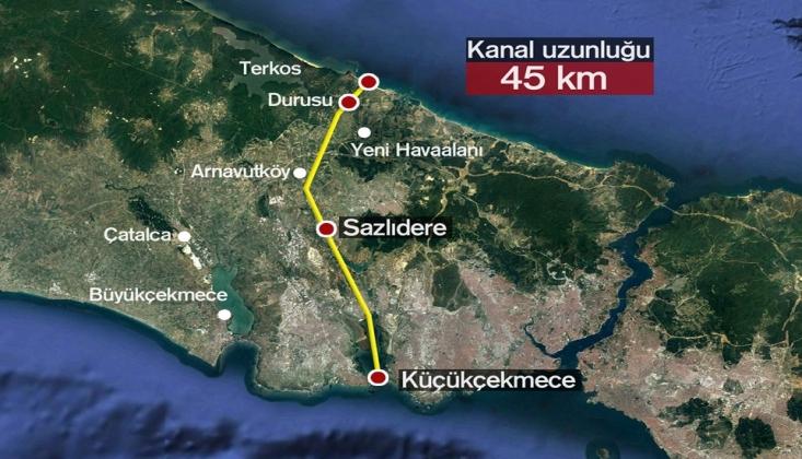 'Kanal İstanbul, İstanbul'un Kuzeyini İmara Açacak Rant Projesidir'