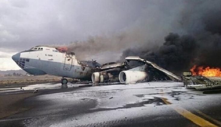 Ensarullah'tan Arabistan'ın Cizan Havaalanı'na İHA'lı Saldırı