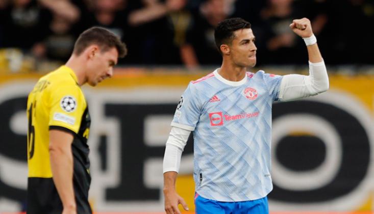 Ronaldo Şampiyonlar Ligi'ne Rekorlarla Başladı