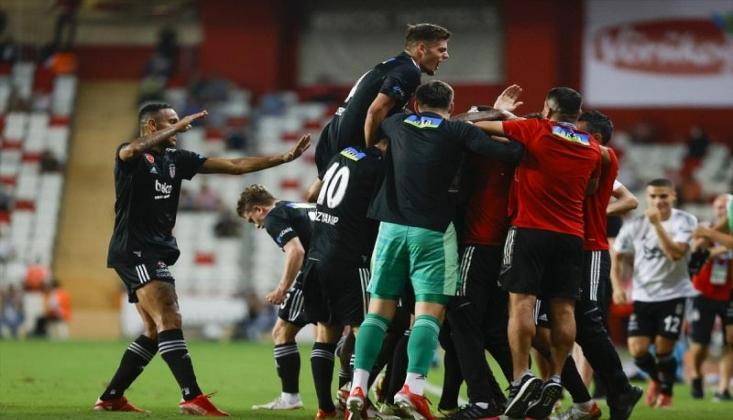 Beşiktaş 2-0'dan Döndü! 3 Puanı Aldı