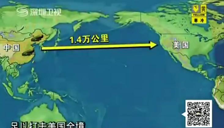 'Çin, ABD'nin Her Yerine Ulaşabilen Füzeyi Test Etti'