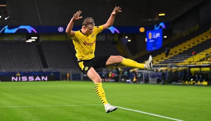Haaland Coştu, Dortmund Tur Atladı!
