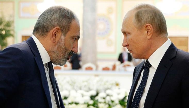 Paşinyan, Putin İle Görüştü