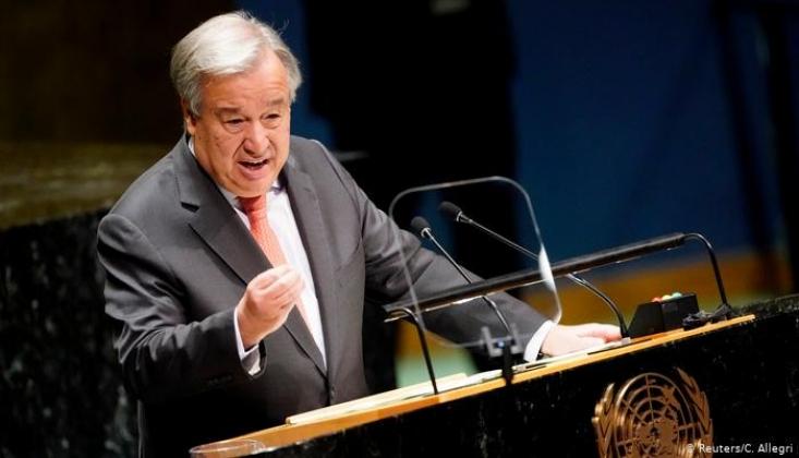 BM Genel Sekreteri Lübnanlı Liderlere Hükümet Kurulması Çağrısında Bulundu