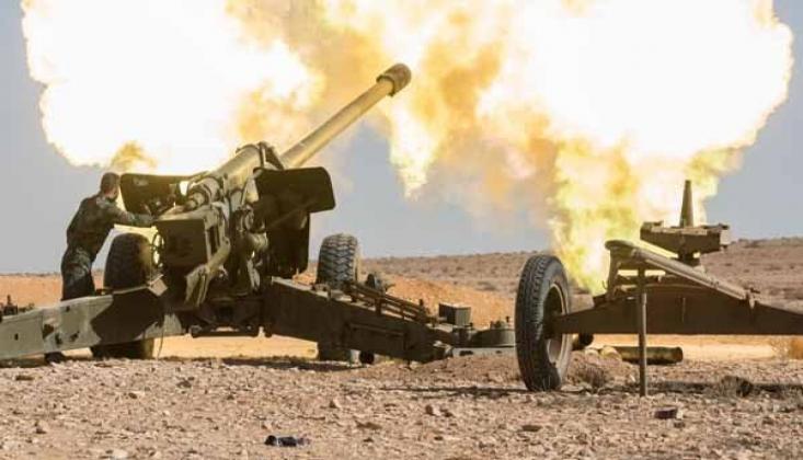 Suriye Ordusu Teröristlere ait İHA'yı Düşürdü