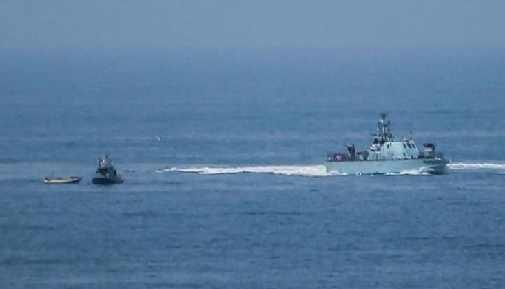 İsrail Güçlerinden Filistinli Balıkçılara Saldırı
