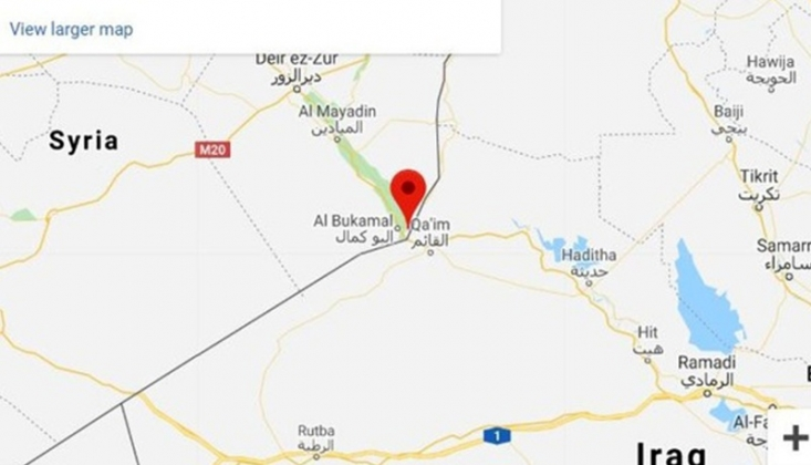 Kimliği Belirsiz Savaş Uçakları, el- Bukemal'a Saldırdı