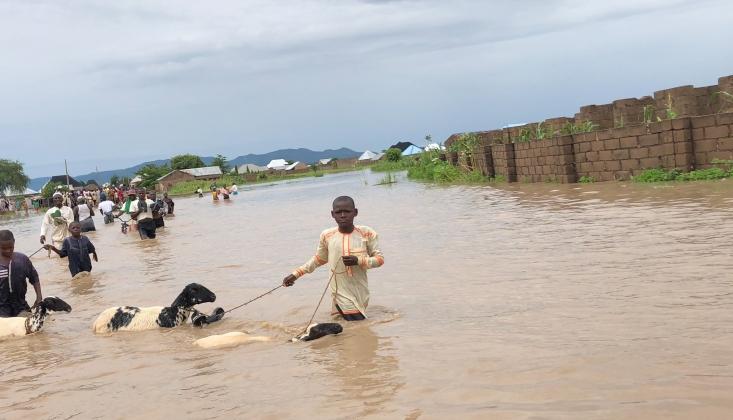 Nijerya'da Büyük Sel Felaketi