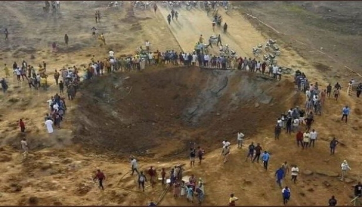 Nijerya'da Meteor Düştü İddiası!