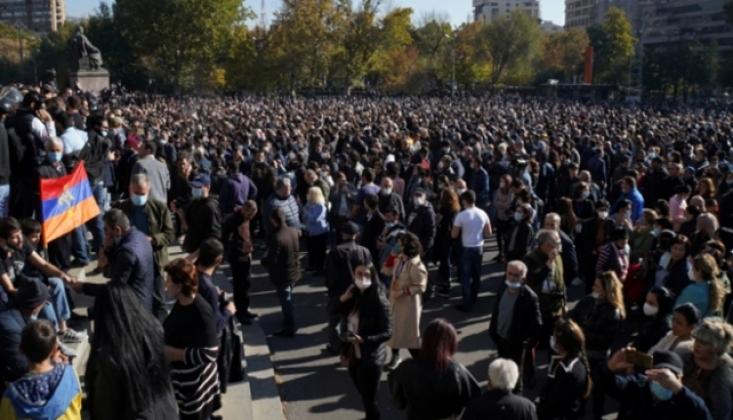 Ermenistan'da Protestolar Sürüyor