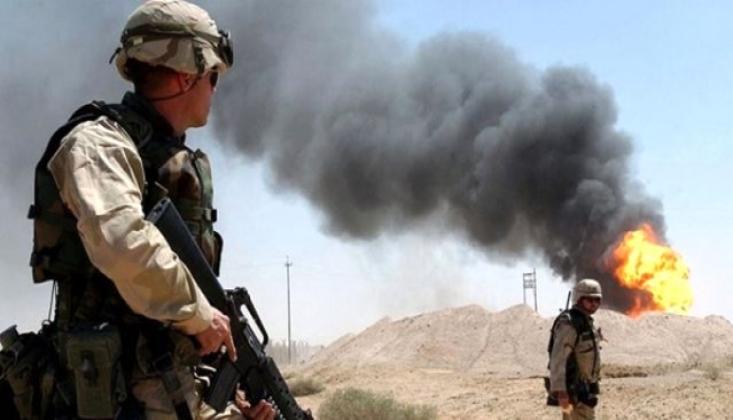 Irak'ta ABD Üssüne Operasyon