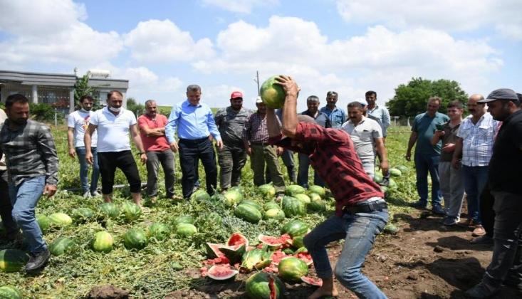 Çiftçinin Fatihası Okundu: 'Cumhurbaşkanım Gör Şu Çiftçiyi Artık'