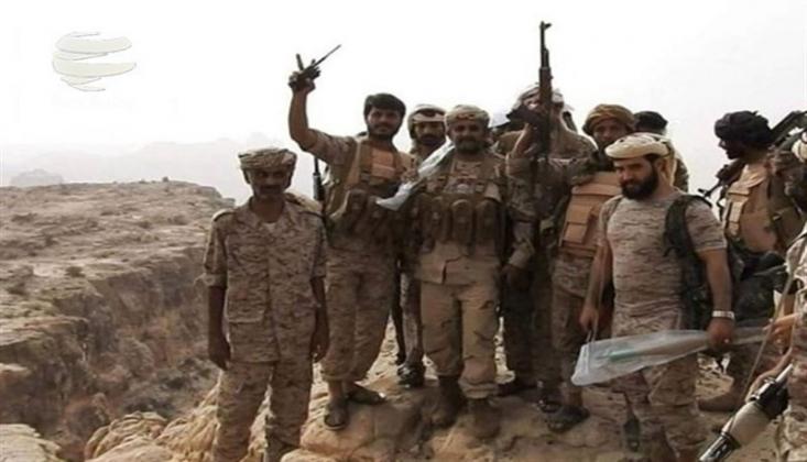 Yemen Ordusu Suudi Arabistan Sınırındaki Bölgeleri Ele Geçirdi