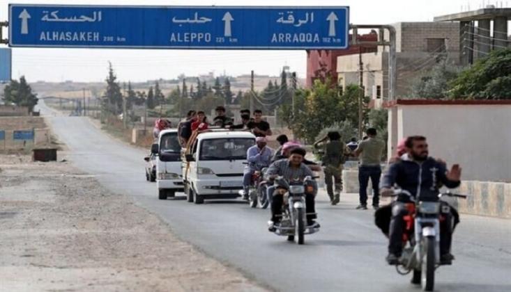 Rakka -Halep Yolu Tekrar Açıldı