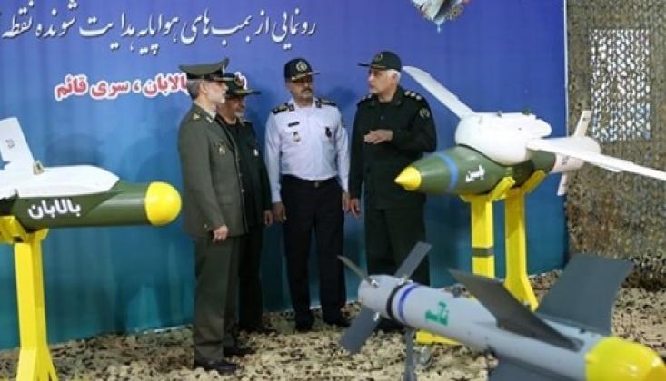 İran'ın Yeni Bombaları Görücüye Çıktı