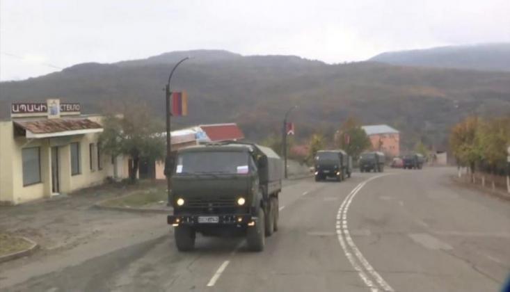 Dağlık Karabağ'da Asker Sevkiyat Sürüyor