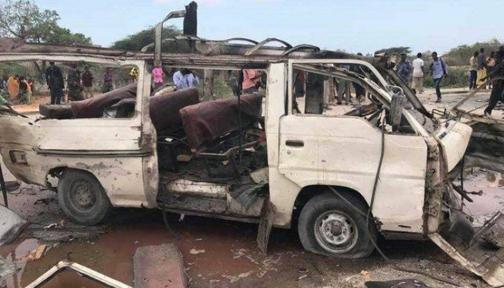 Somali'de Bombalı Saldırı