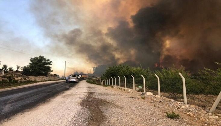 Manavgat'ta Büyük Orman Yangını
