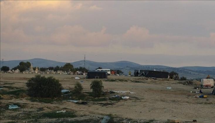 Siyonist İşgalciler Bu Köyü 186'ncı Kez Yıktı