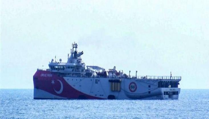 Oruç Reis, Antalya Limanı'ndan Ayrıldı