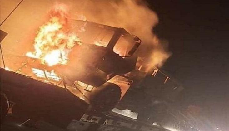 Irak'ın Güneyinde ABD Ordusunun Konvoyuna Saldırı Düzenlendi