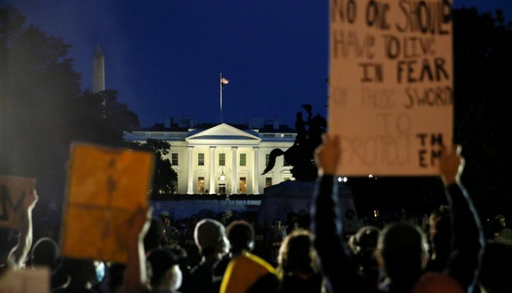 Beyaz Saray Protestolar İçin 10 Bin Asker İstedi