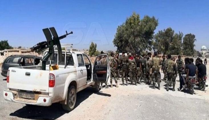 Suriye Ordusu Deraa'da Yeni Bölgeye Girdi