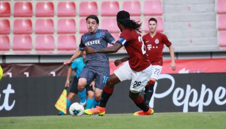 Trabzonspor Prag'dan Avantajla Döndü
