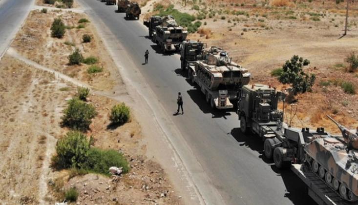 ABD 50 Tırlık Bir Konvoyu Suriye'nin Kamışlı Kentine Nakletti
