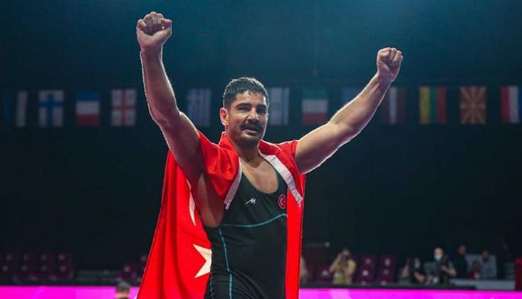 Taha Akgül Avrupa Şampiyonu!