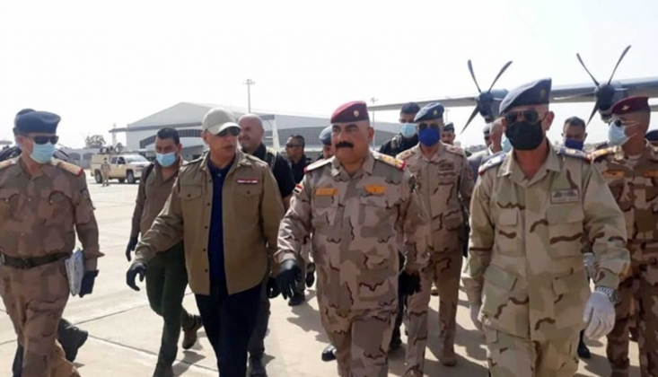 Kerkük'te IŞİD Karşıtı Operasyon